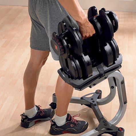 Bowflex SelectTech 1090i pesas ajustables (Par) Rango de peso: 4-41kg (10-90lbs) por mancuernas, Entrega de correos servicios incluidos en el precio.
