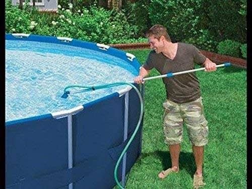 Plastic Pool Vacuum Head Floating Objects Pool Supply Cleaning Tools for Removes Debris WZZZZ Mini Jet Swimming Pool Vacuum Cleaner Cleans Floors