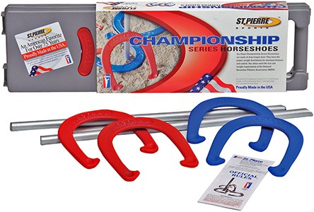 St. Pierre Royal Classic Championship Series Horseshoes Set by St. Pierre