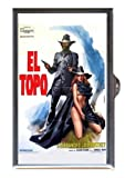 El Topo 1970 Alejandro Jodorowsky Movie Poster Guitar Pick or Pill Box USA Made