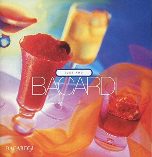 JUST ADD BACARDI /RUM RECIPES BOOKLET /ILLUSTRATED+++