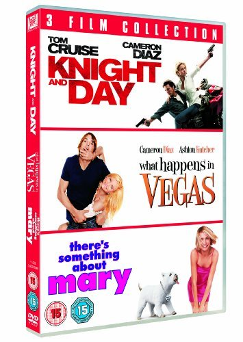 Knight and Day / What Happens in Vegas / There's Something About Mary Triple Pack [DVD] [1998] by Cameron Diaz B01I06U4T2