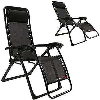 Amazon Com Flamrose Upgraded Zero Gravity Lounge Chair
