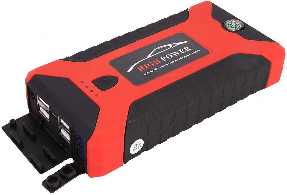 Car Auto Emergency Start Power Fuente de alimentaci/ón Bater/ía port/átil 20000mAh 110-240V EU EBTOOLS Car Jump Starter Power Bank