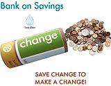 Bank on Savings! Water Bank Saving Eco-kit| Change | Water Conservation Tip Saver Bank