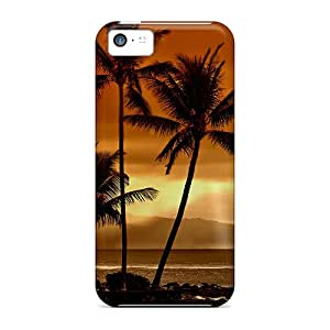 New Shockproof Protection Case Cover For Iphone 5c/ Palm Trees Case Cover