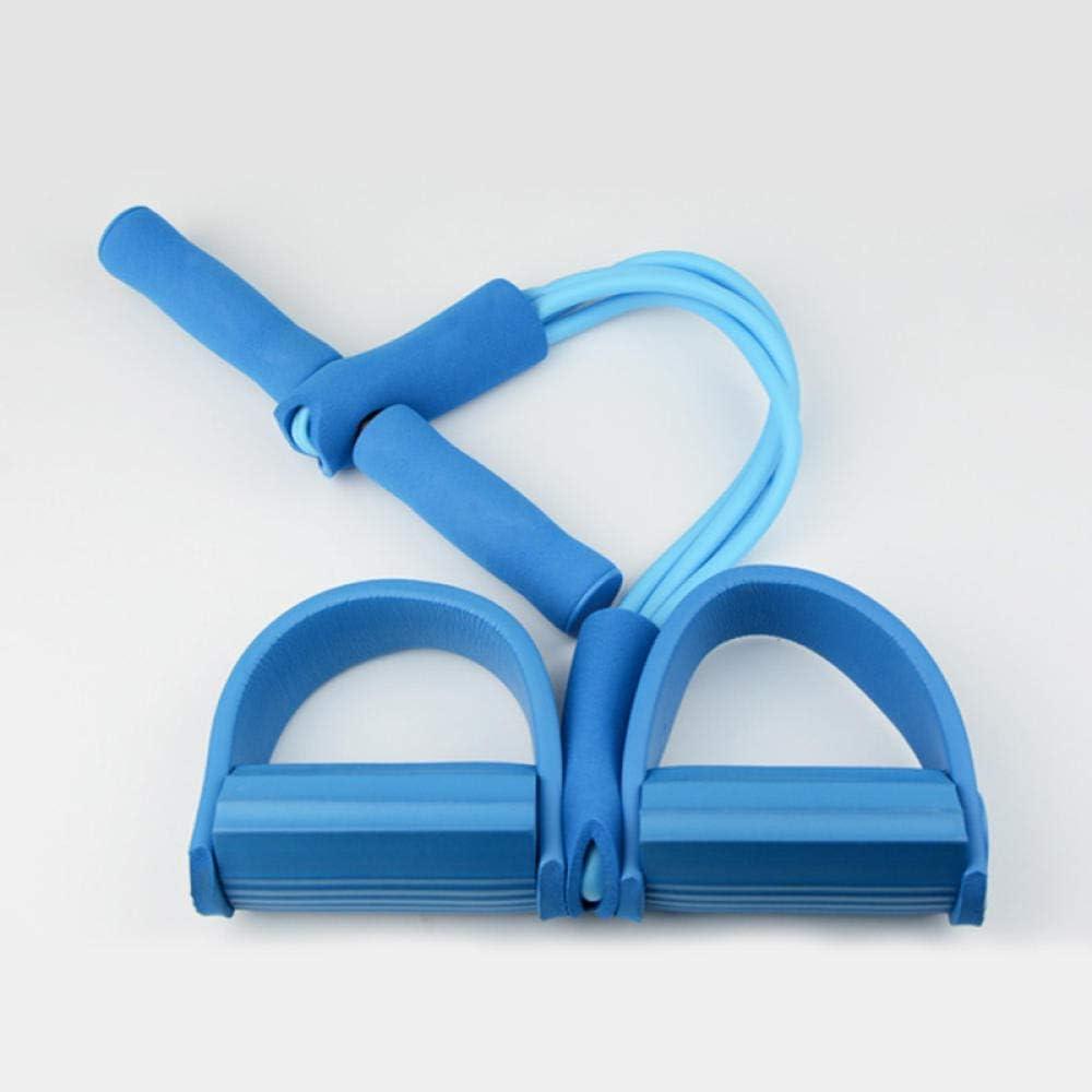 SHYSBV 4 Resistanc /Élastique Tirez Cordes Exerciseur Rameur Bande De R/ésistance du Ventre Home Gym Sport Formation Bandes /Élastiques pour L/Équipement De Fitness-Violet