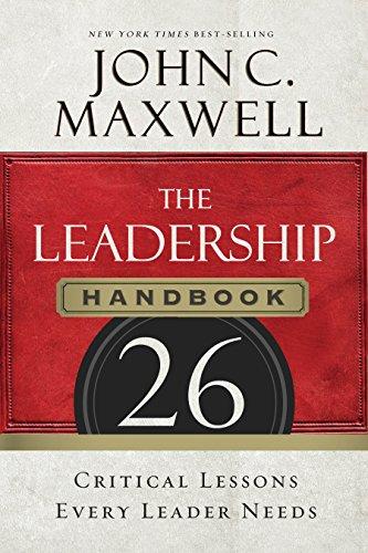 Amazon the leadership handbook 26 critical lessons every the leadership handbook 26 critical lessons every leader needs by maxwell john c fandeluxe Gallery