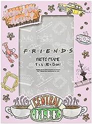 "Silver Buffalo Friends ""How You Doin"" Icons 10 x 15 cm, moldura de foto reco"