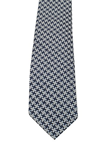 CL - TOM FORD Patterned Blue Tie In Silk (Ford Tom Ties)