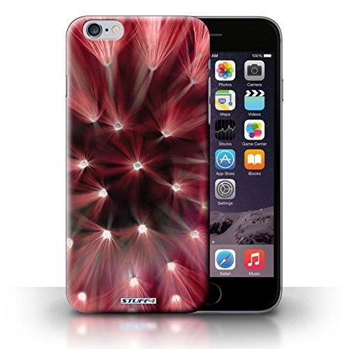 iCHOOSE Print Motif Coque de protection Case / Plastique manchon de telephone Coque pour iPhone 6+/Plus 5.5 / Collection Couleur/Lumière Fleur / Rouge