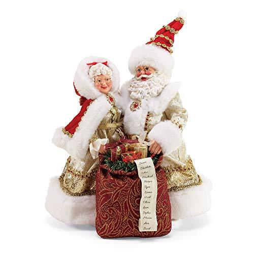 Department 56 Possible Dreams Santas Golden Years Limited Edition Figurine, 10.5 Inch, Multicolor (Department Dreams Santas 56 Possible)