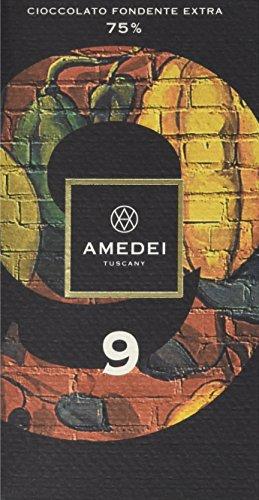 Amedei Signature '9' Blend Dark Chocolate Bar, 75% Cocoa ()