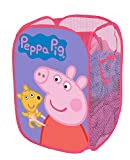 Peppa Pig Pop Up Hamper, 13.5 x 13.5 x 21.5