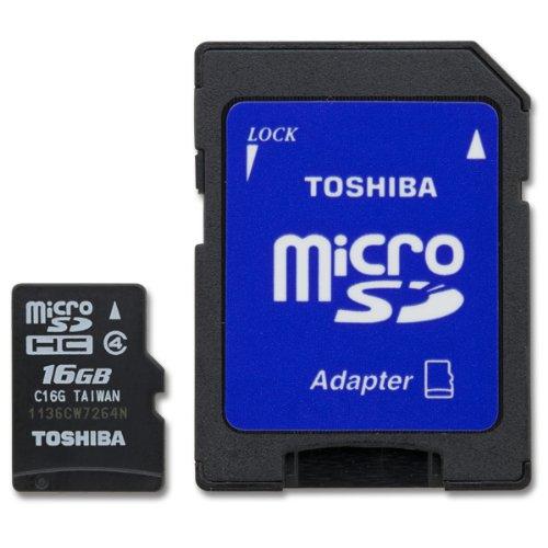 Toshiba Sd Card Digital Camera (Toshiba 16 GB microSD)