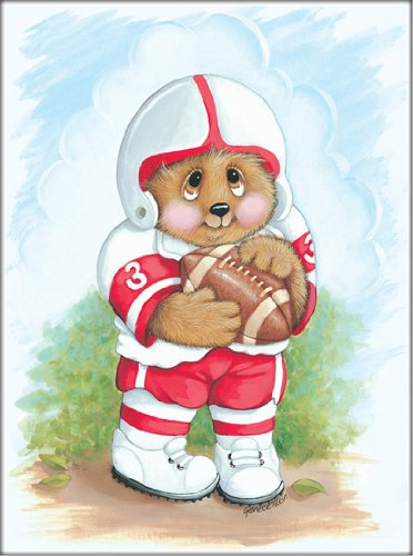 sports-bear-football-star-childrens-wall-art-kids-wall-art-nursery-wall-art-8-x-10