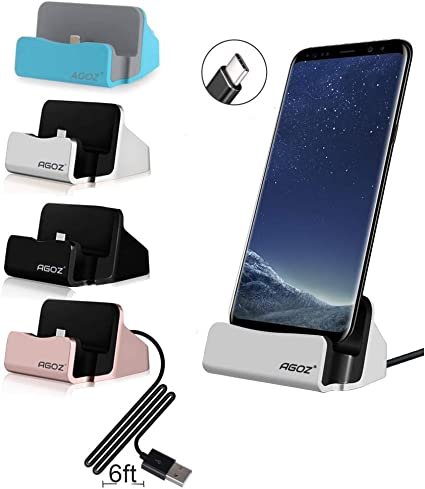 Desktop Dock Charging Charger Sync Cable Cradle Station For ASUS ZENPAD S8
