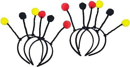 Amosfun 6 piezas fiesta cabeza boppers antena diademas abeja ...