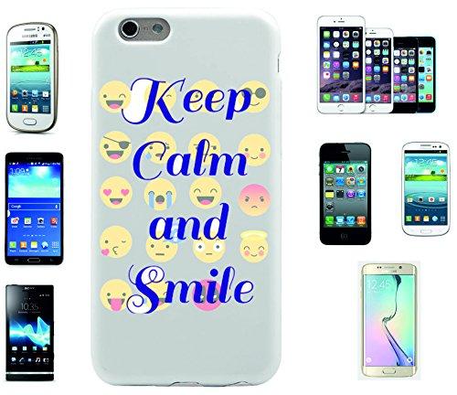 """Smartphone Case Apple IPhone 7 """"Smileys mit and Smile Spruch"""", der wohl schönste Smartphone Schutz aller Zeiten."""
