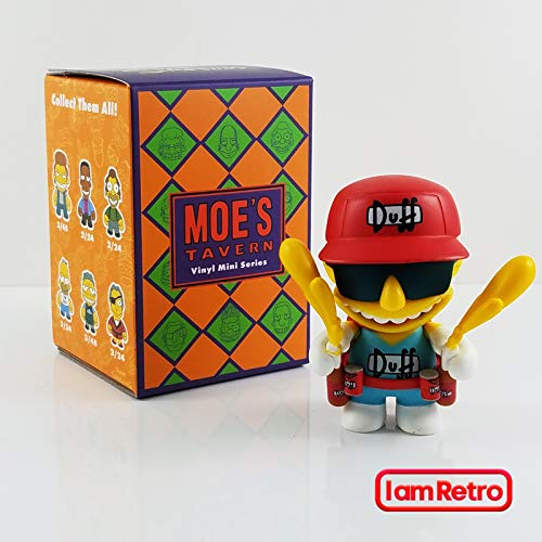 Kidrobot Duff Man - Moe's Tavern Simpsons Mini Series Opened Blind Box -