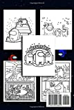 Among Us Coloring Book: Coloring Pages with Among