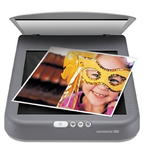 Epson Perfection 1260 Photo Scanner (Renewed) by Epson