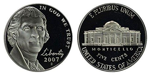 2007 S Proof Jefferson Nickel PF1