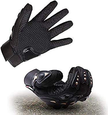 Motorcycle Gloves Cycling Scooter Glove Man Hard Knuckle Touchscreen for Motorcycle ATV Bike Climbing Hiking Cycling and Other Outdoor Sports
