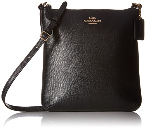 Coach Crossgrain Leather N/S Crossbody