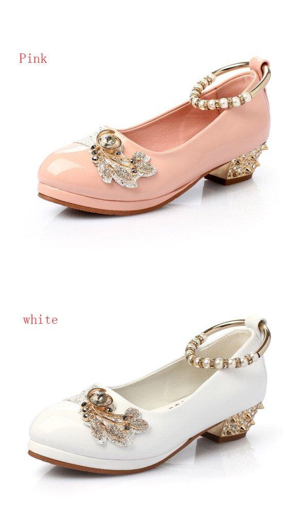 SBL Schuh-Mädchenschuhe der Herbstes weißen Schulkinder des Herbstes der weiße,Weiß,29 - 0b5001