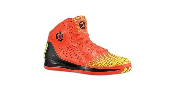 differently 91e2c e48e1 Amazon.com  adidas Rose 3.5 (4, The Spark (InfraredElectricity))   Basketball