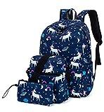 Best Kids Laptops - Leaper Unicorn Backpack for Girls Laptop Backpack School Review