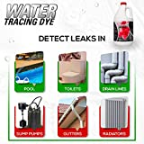 Red Water Tracing & Leak Detection Flourescent Dye