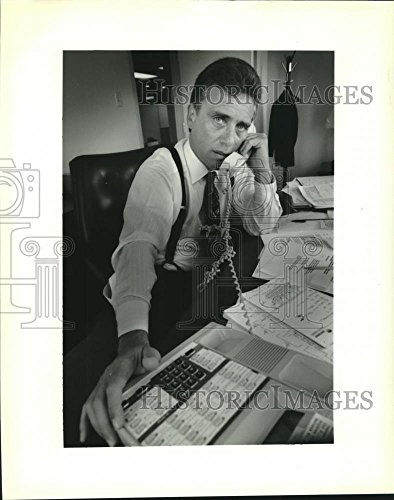 1993 Press Photo Michael Fleming  Of The Entergy Corporation   Nob19290
