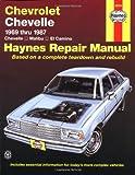 Chevrolet Chevelle '69'87 (Haynes Repair Manuals)