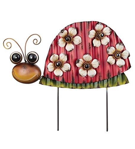 Regal Groovy Garden Stake in Ladybug