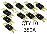VOODOO QTY 10-350 Amp ANL Inline Fuse by Car Audio For Fuse holder