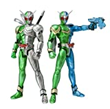 S.H. Figuarts - Kamen Rider W Cyclone Trigger & Cyclone Metal Action Figures