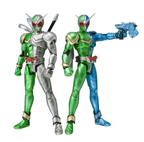 S.H.フィギュアーツ 仮面ライダーW(ダブル) サイクロントリガー&サイクロンメタルの商品画像