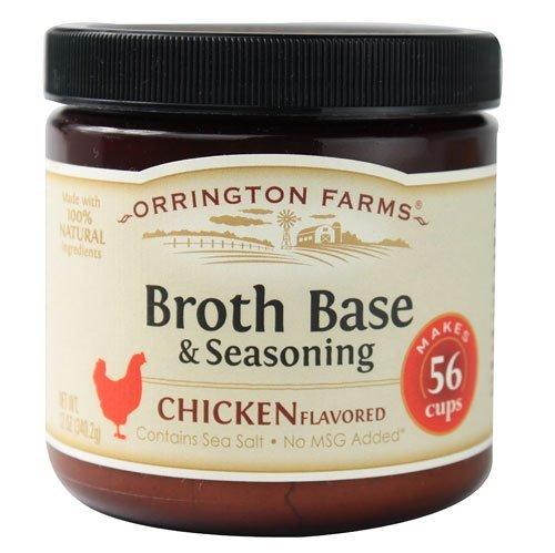 Ingredients Chicken Base - Orrington Farms Broth Base & Seasoning Chicken - 12 oz(2 Pack)