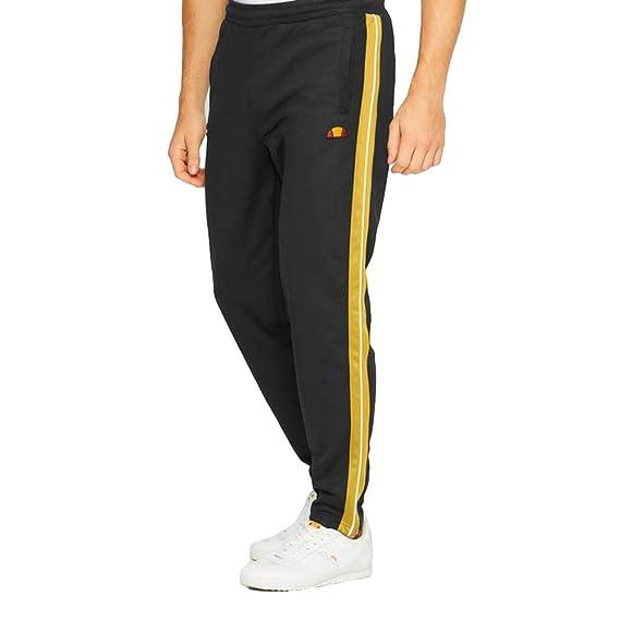 96655534c0 ellesse Men's Cassed Track Joggers, Black: Amazon.co.uk: Clothing