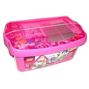 LEGO Pink Brick Box Large (5560)