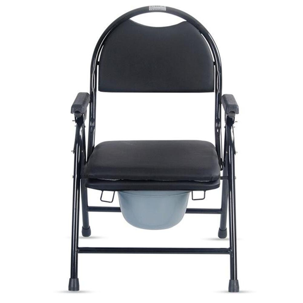 Old man Toilet chair Bathroom Toilet Seat Elderly, pregnant, disabled  person Commode Chair (No wheel )