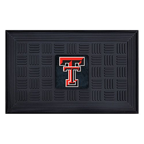 Fanmats NCAA Texas Tech University Red Raiders Vinyl Door (Texas Tech Red Raiders Floor)