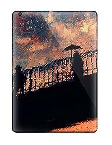Best 9362292K42448467 High Grade MarvinDGarcia Flexible Tpu Case For Ipad Air - Rain Shadows