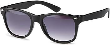 Eg-Fashion Wayfarer Sonnenbrille aus Kunststoff Kindersonnenbrille mit verlaufenden Gläsern - UV 400 Filter und CE-Prüfzeichen