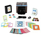 Fujifilm Instax Mini 9 or Mini 8 Instant Camera Accessories Bundle,11 Piece Gift Includes Instax Mini Case with Strap, Photo Albums, Filters, Selfie lens, Hanging + Creative Frames, stickers & More.