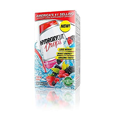 Hydroxycut Great Tasting Weight Loss Drops Supplement 1.62 Ounce