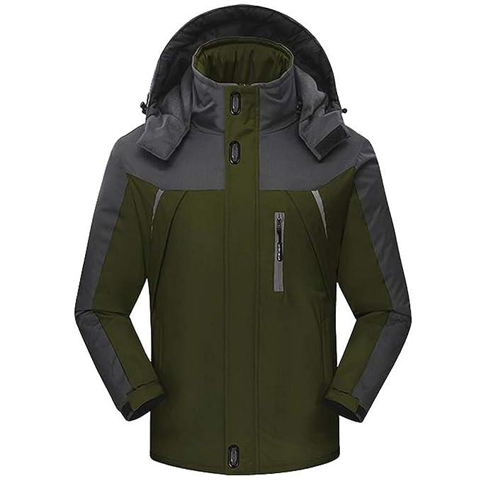 Zip Grueso Abrigo de Lana Outwear Viento Chaquetas Hombre Abrigo y Chaqueta Acolchados de Gran tamaño