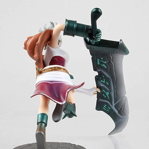 Riven Figura Estatua, el clásico Estatua Exilio, LOL Figura ...
